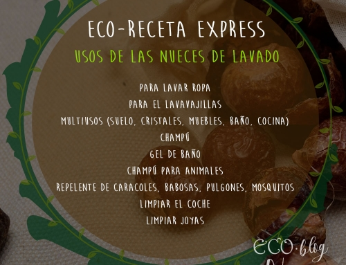 """Eco Receta Express """"Usos de las Nueces de Lavado"""""""