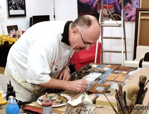 """Convirtiendo la """"basura"""" en Arte – Entrevista a Joaquim Riera de Recuperart"""