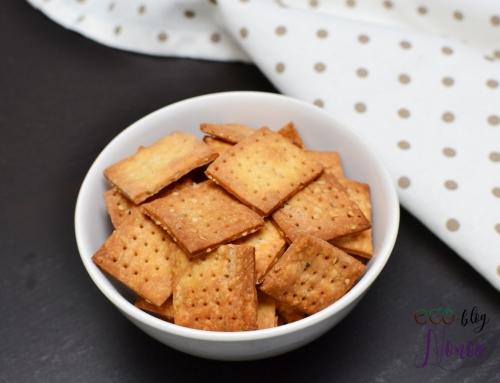 Crackers veganas ¡muy fáciles de hacer!