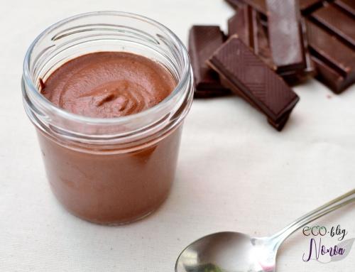 Crema de chocolate y anacardos